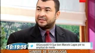 AROLDO MACIEL EN TVN CHILE EXPLICA SISMO...