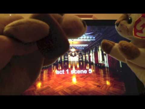 romeo and juliet - stuffed animal musical