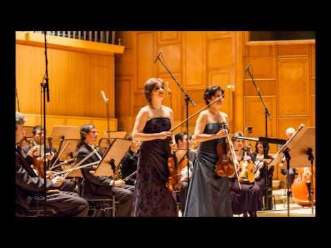 Dublul concert de Bach cu Cristina Anghelescu si Ioana Cristina Goicea