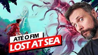 Aventura Narrativa Até Zerar! Lost At Sea (Gameplay em Português PT-BR)