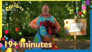 Mr Tumble Goes Outside Compilation | 19+ minutes