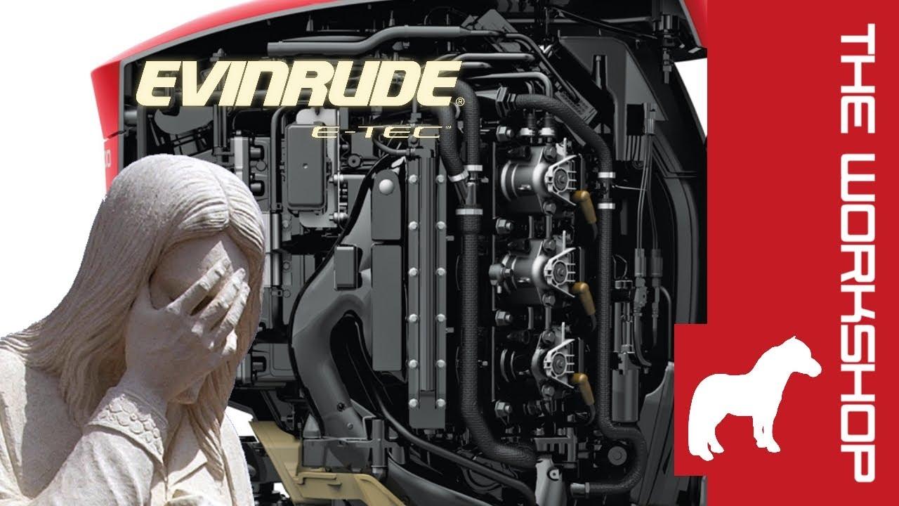 300HP Evinrude - actually a shite engine?
