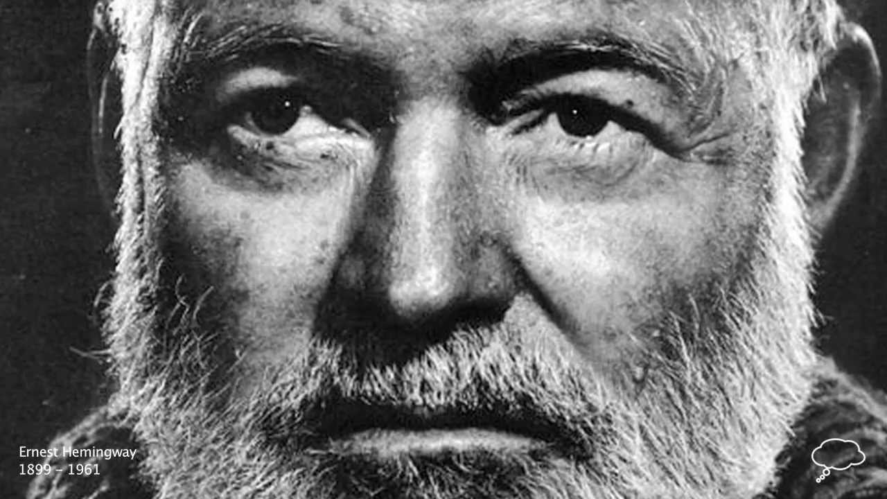 Ernest hemingway a canary for one