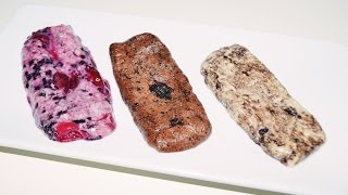 Questbar Selber Machen / Cookies & Cream - Berries - Chocolate Brownie - Low Carb Riegel Rezept 2015