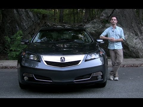2012 Acura TL Test Drive & Car Review - RoadflyTV with Ross Rapoport