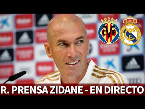 VILLARREAL vs. REAL MADRID | Rueda de prensa previa de ZIDANE | Diario AS