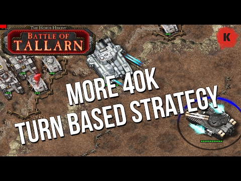 ANOTHER Warhammer 40k Mobile Game?! Horus Heresy Battle of Tallarn PC Gameplay