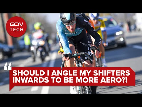 Should You Turn Your Shifters Inwards To Get More Aero? | GCN Tech Clinic #AskGCNTech