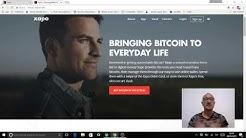 Xapo Walet Bitcoin. Spiegazioni utilizzo app e web. Acquistare bitcoin