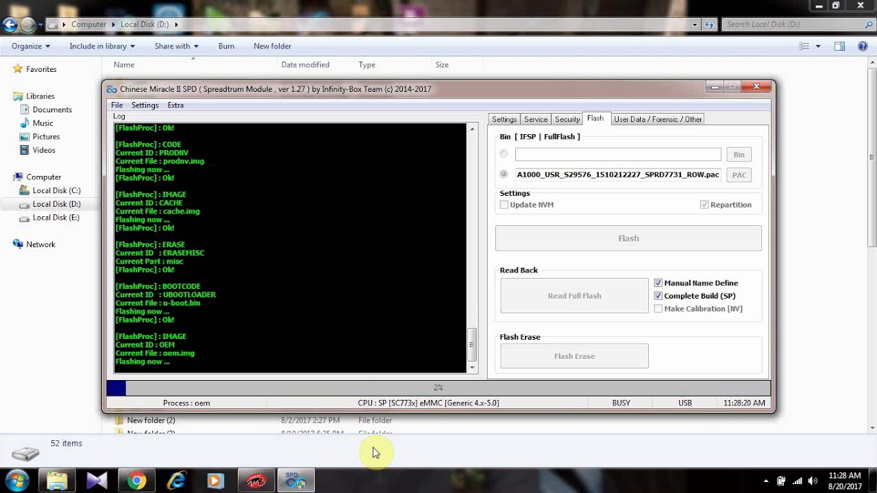 Lenovo A1000 After Flash Dead tested Solution