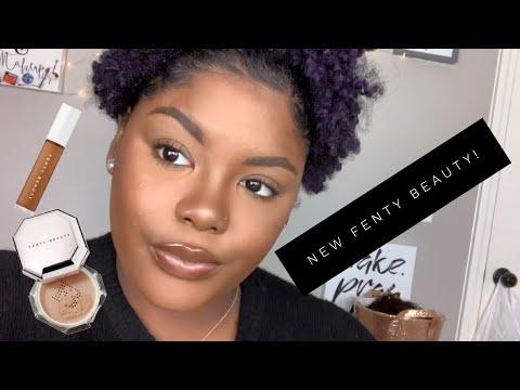 Creasing?! | Fenty Beauty Concealer & Powder First Impression & Wear Test | Shakirah Glam Artist