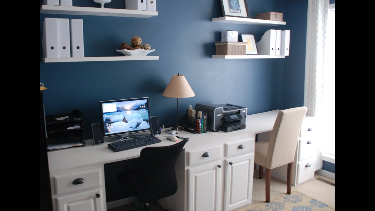 How To Make A Desk Out Of Kitchen Cabinets