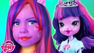 Alice turn into a Twilight Sparkle from Equestria Girls My Little Pony