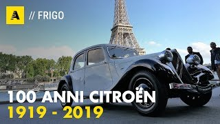 Citroën compie 100 anni | Dalla Traction Avant al SUV C5 Aircross