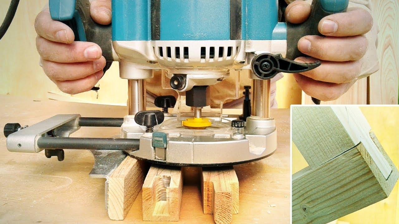Фрезерование соединения паз шип, milling groove and spike