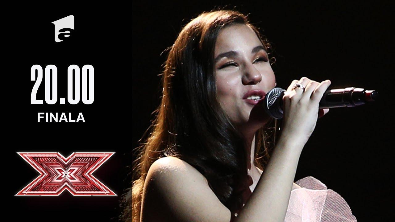 """Andrada Precup te va emoționa până la lacrimi, cântând melodia """"Mama""""   Finala   X Factor 2020"""