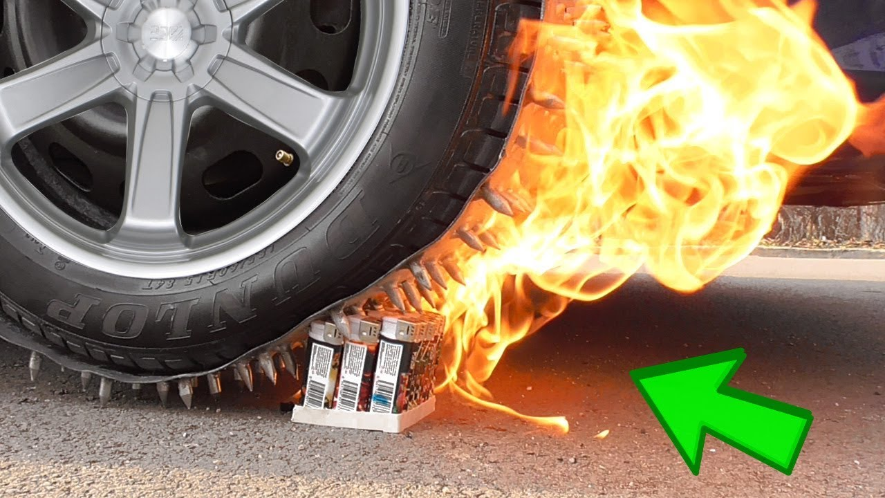 Experiment Car vs Lighters   Crushing Crunchy & Soft Things by Car   Miss Destruction