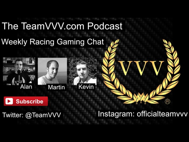 Team VVV Podcast 21, The Grand Tour, Assetto Corsa, R3E, Burnout Paradise