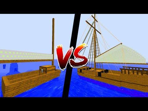 Thử Thách Thuyền Nào Mạnh Nhất Trong Minecraft