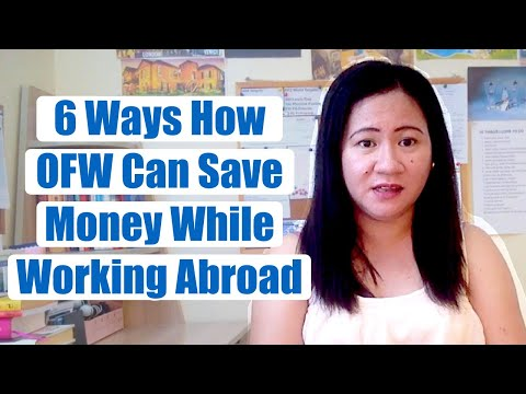 6 Ways On How OFW Can Save Money While Working Abroad   OFW Savings Tips