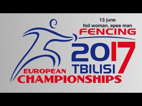#European Champioships Tbilisi Woman Foil/Man Epee individual FINAL