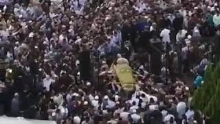 Юсуп Темерханов, похороны героя чеченцев