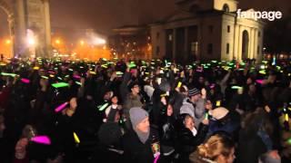 Milano, in 600 per il flash mob natalizio