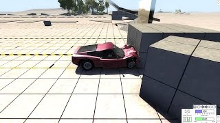 3000fps Car Crash - BeamNG.drive - Slow Motion Car Crashes - Traffic Collision
