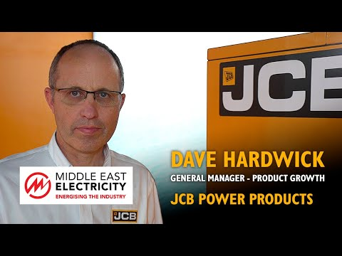 JCB Power Products Rental Generators - Middle East Electricity 2019