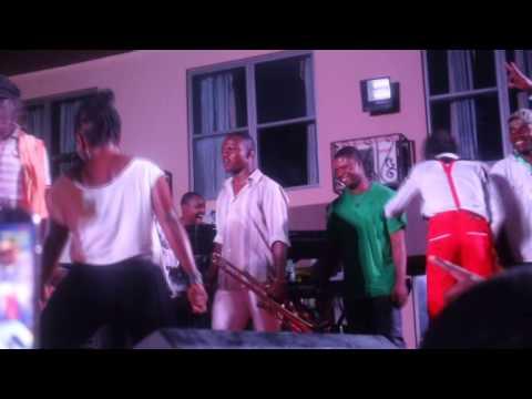 Daddy Lumba performs with Kwadwo Nkansah Lil Win on Daddy Lumba and AmakyeAseda Tour