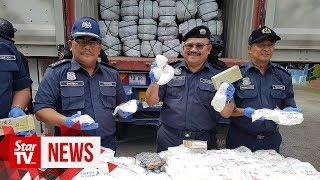 Customs 'unlocks' drugs hidden in door frames