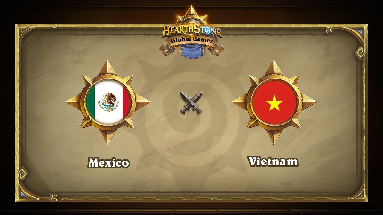 Мексика vs Вьетнам | Mexico vs Viernam | Hearthstone Global Games (16.06.2017)