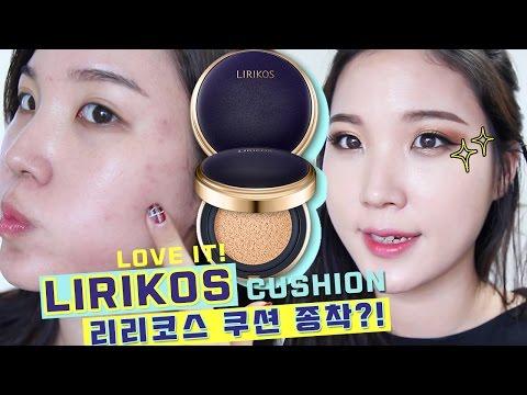😍NEW FAVORITE CUSHION! Lirikos Marine Collagen Cushion EX Review | Liah Yoo ❤