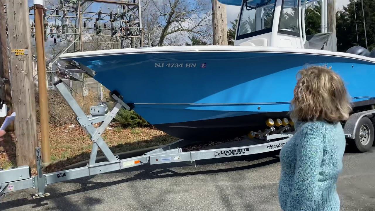 Customer testimonial | Mr. & Mrs. Hansen  | 3rd Boat from NJOB | Christening Rosie 3