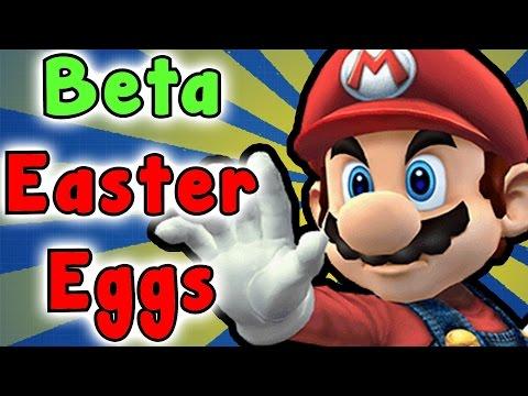 Super Smash Bros Brawl - Beta EASTER EGGS And SECRETS