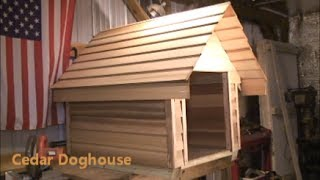 How  To Build A Cedar Doghouse