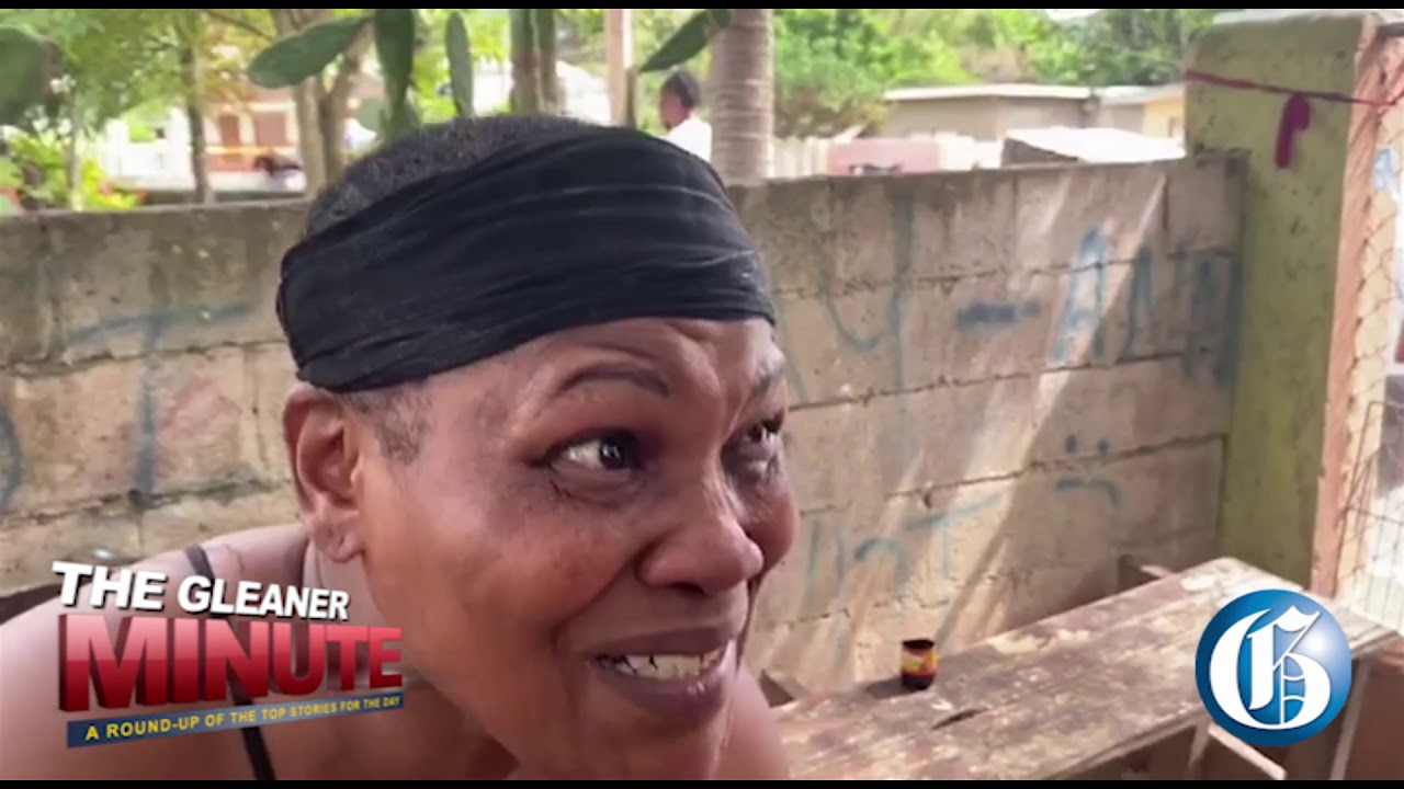 THE GLEANER MINUTE: CMU clash...Pompeo in Jamaica...August Town murder...Sangster airport number one