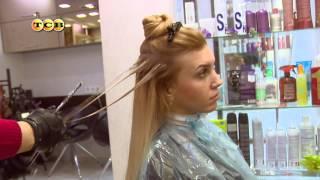 видео Калифорнийское мелирование на темные и русые волосы