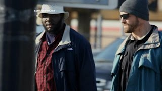 NFL Players Go Undercover as Homeless Men