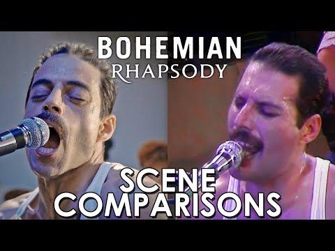 Bohemian Rhapsody (2018) - scene comparisons