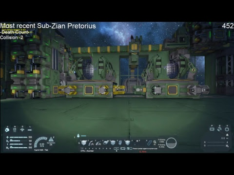 Space Engineers Live Stream: Stargate World Server- Building Convergence mkII
