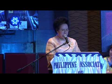 Miriam at the PAREB Annual National Convention (10 October 2014)