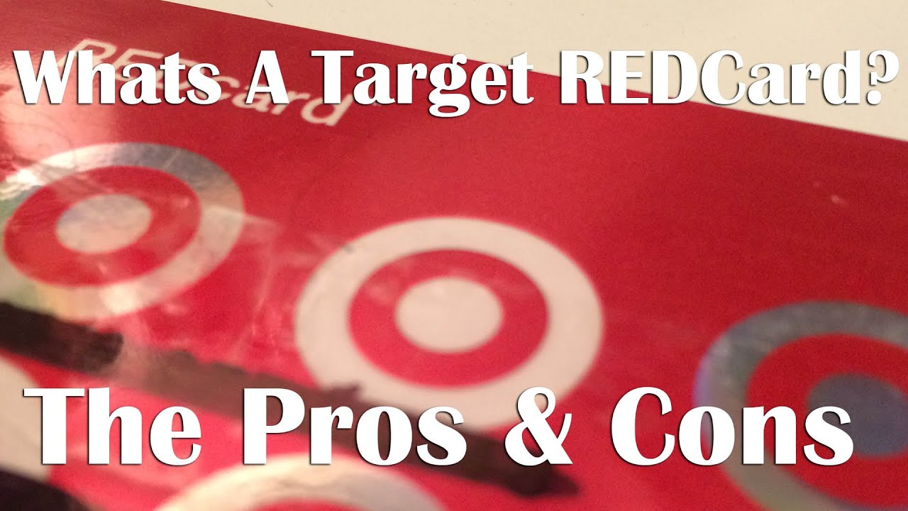 target redcard Target has two different redcards, a debit version and a credit version the credit version is just a credit card, with a line of credit, you can charge up to the credit card can only be.