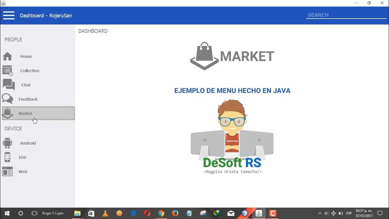 Java Swing UI Design - Como Hacer Un Menu Sliding - Parte1