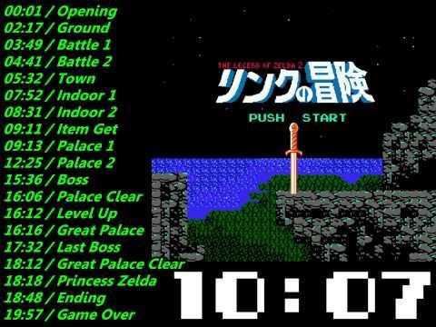 Nes The Legend of Zelda 2 (FDS) Soundtrack