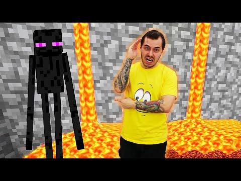 Видео обзор - Прохождение Майнкрафт: Эндермены, лава и лабиринт ч.2 – Minecraft игры для мальчиков