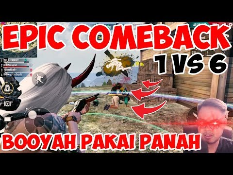 booyah-pakai-panah-1-vs-6-epic-comeback-pakai-bundle-budiuwoe---garena-free-fire