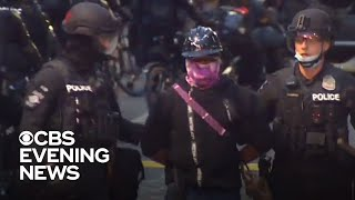 More than 30 arrested as Seattle police clear protest zone