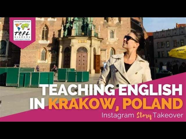 Day in the Life Teaching English in Krakow, Poland with Olivia Olsen