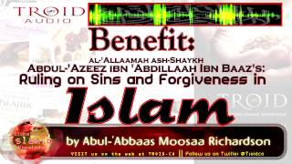 Benefit: The Ruling On Sins And Forgiveness In Islam